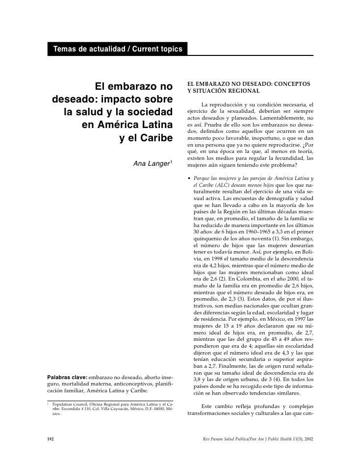 Temas de actualidad / Current topics                                                                              EL EMBAR...