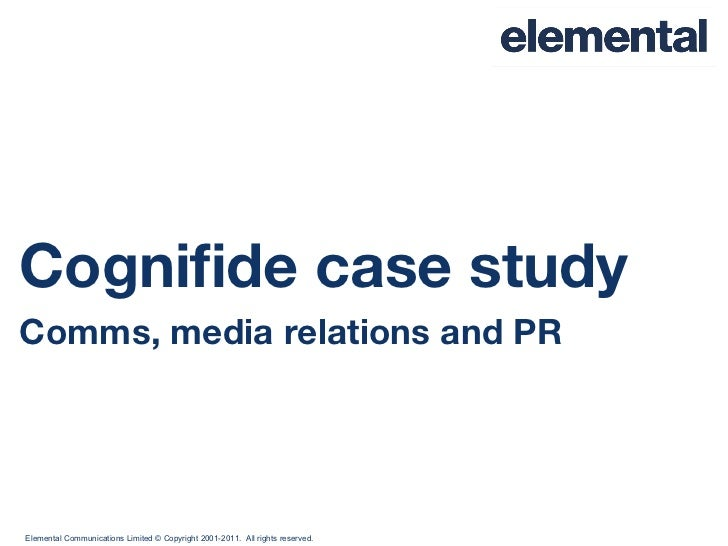 Cognifide case study Comms, media relations and PR