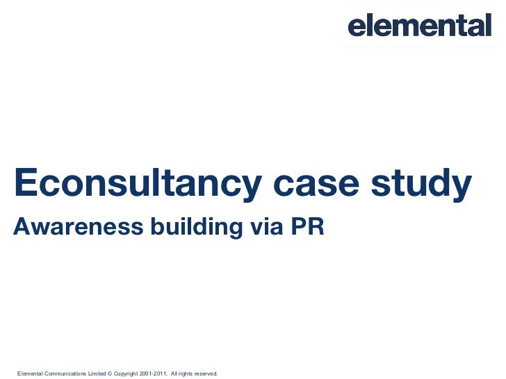 Elemental Econsultancy case study