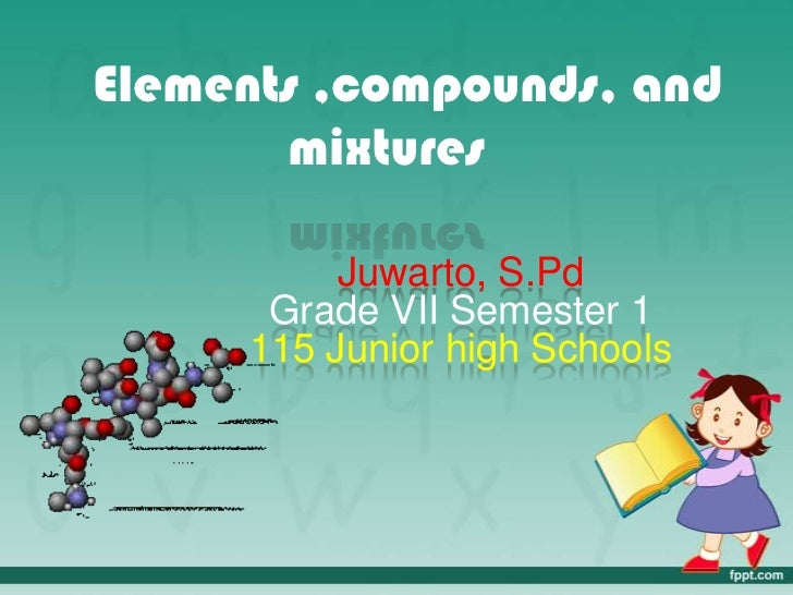 Element and compound baroe