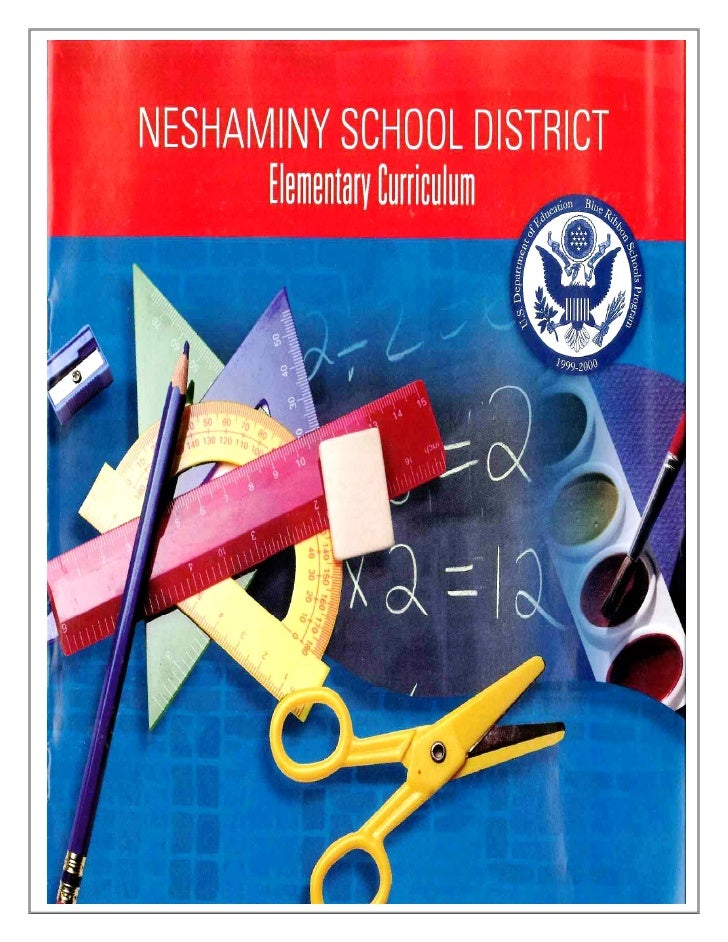 Elementary Curriculum Brochure