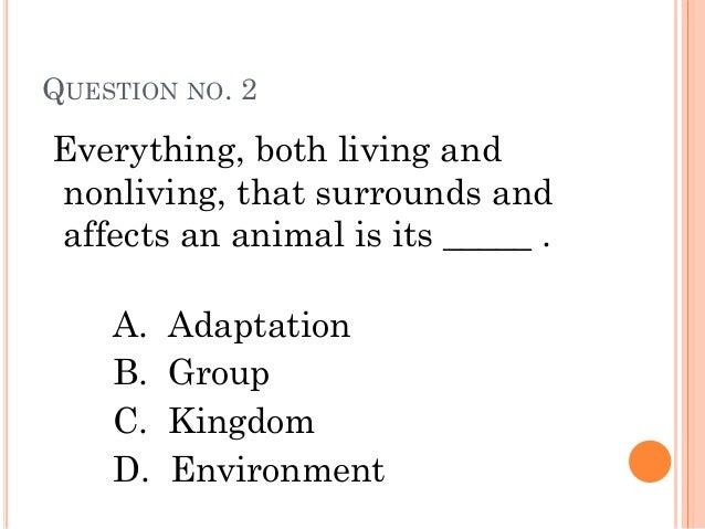 Environmental Science Question?