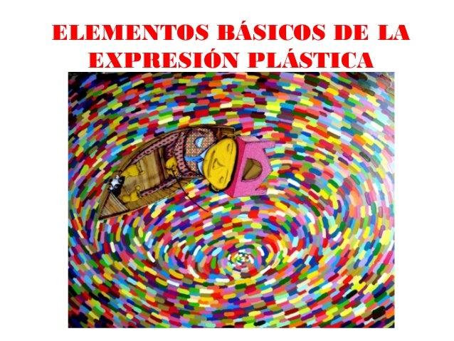 Elementos básicos de la expresión plástica. 1º eso