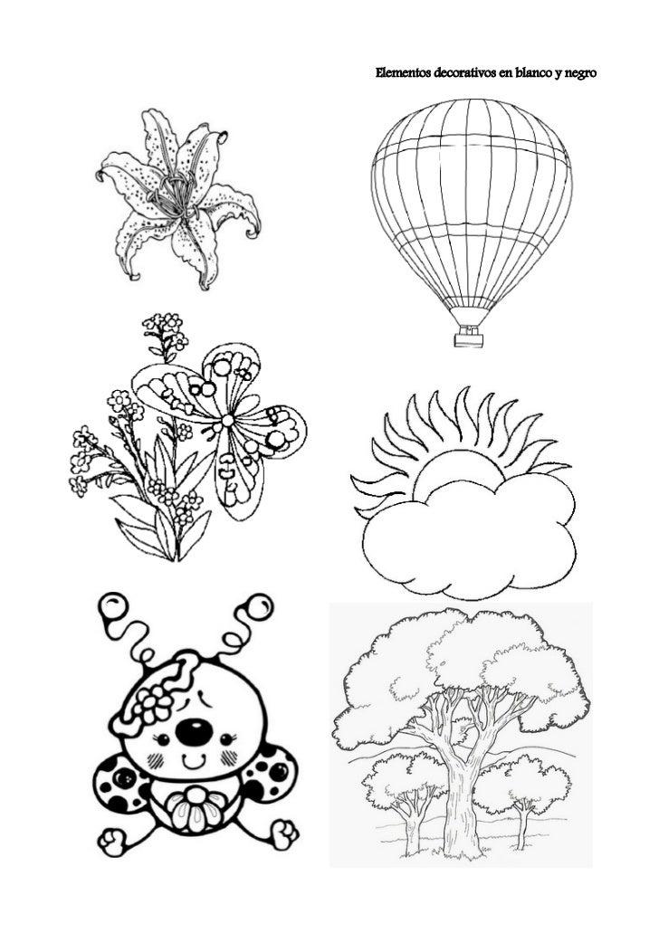Elementos decorativos blanco y negro for Corredor deco blanco y negro