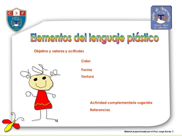 Elementos del lenguaje plástico