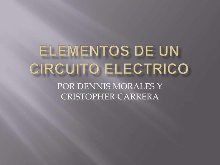 POR DENNIS MORALES Y CRISTOPHER CARRERA