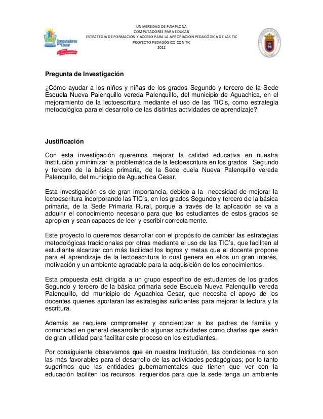 UNIVERSIDAD DE PAMPLONA                                       COMPUTADORES PARA EDUCAR                ESTRATEGIA DE FORMAC...