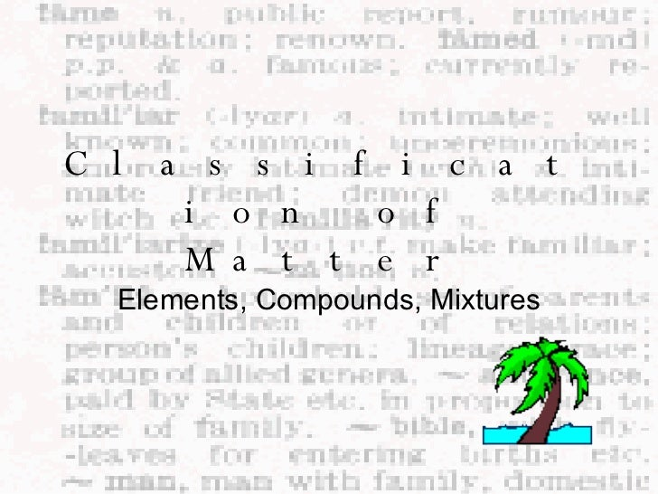 Compounds And Elements Worksheet images