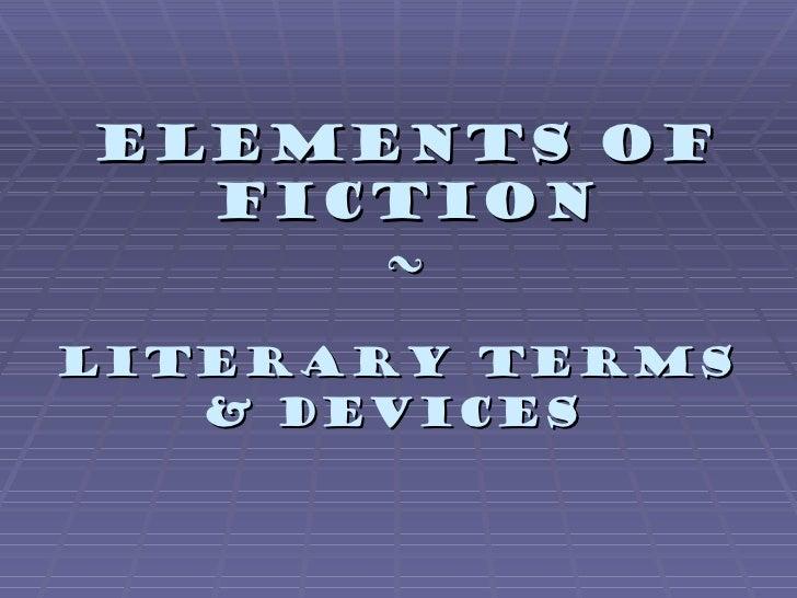 Elements of-fiction