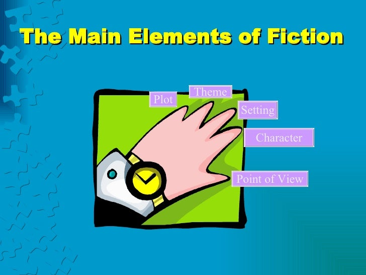 The Main Elements of Fiction Plot Theme Setting Character Point of View