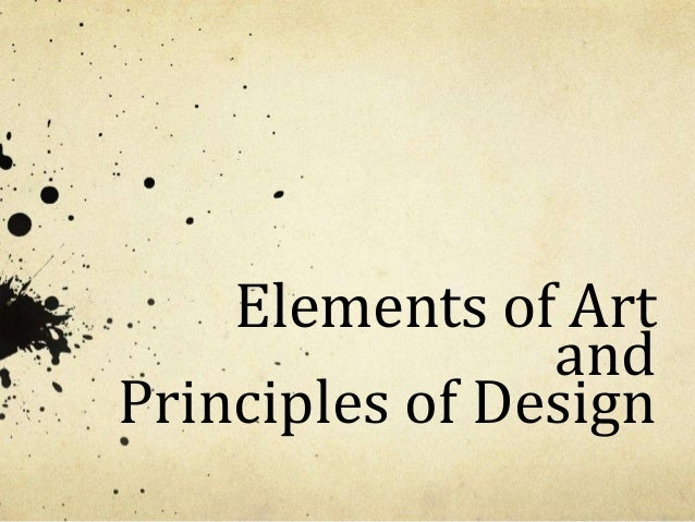 Elements principles update