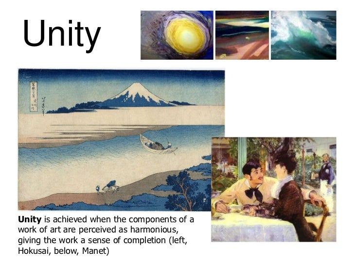 Unity Element Of Art : Art elements and principles