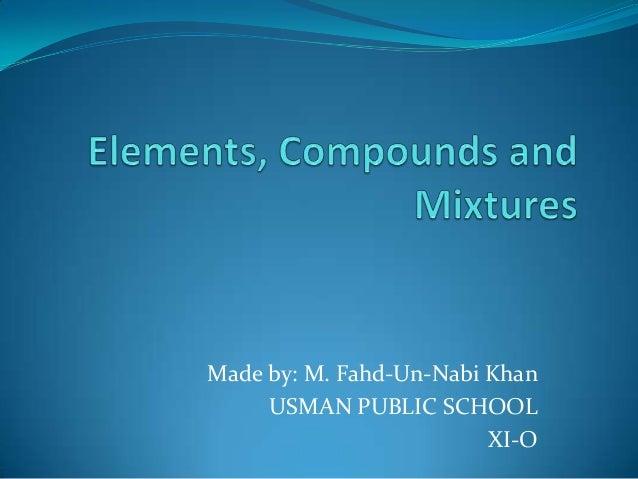 Made by: M. Fahd-Un-Nabi Khan     USMAN PUBLIC SCHOOL                         XI-O
