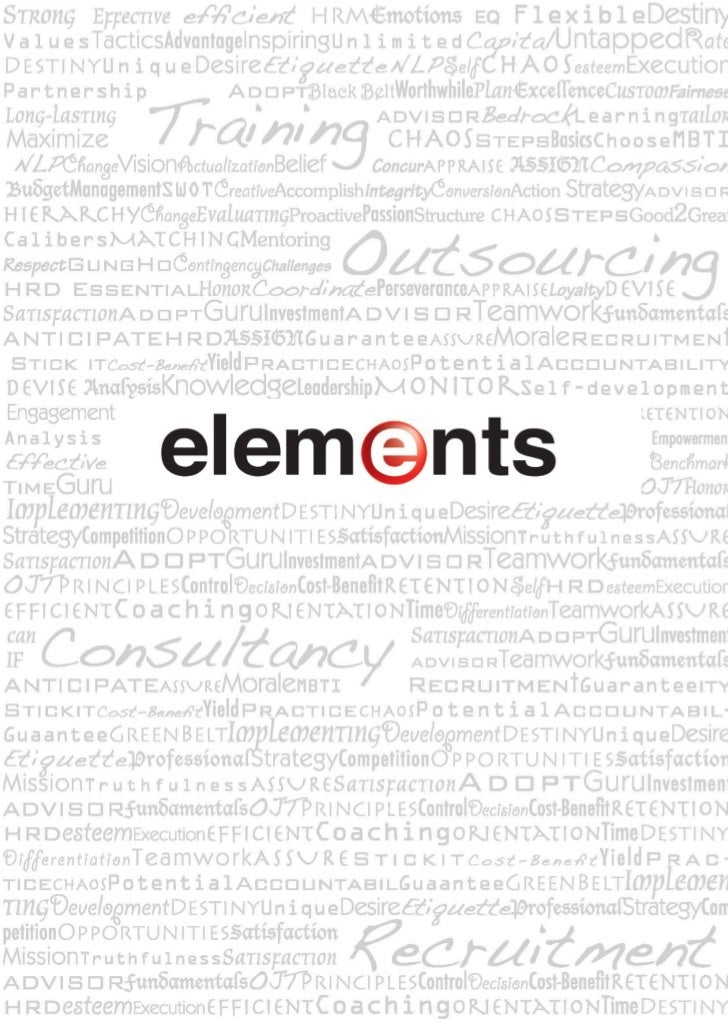 Elements e profile