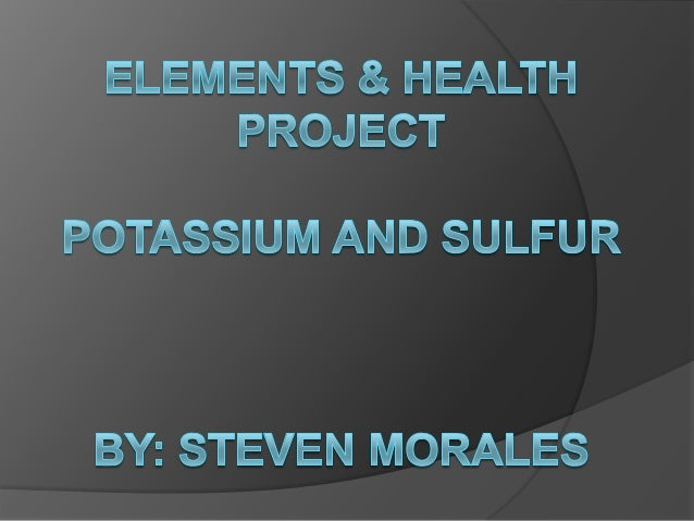 Elements & health project