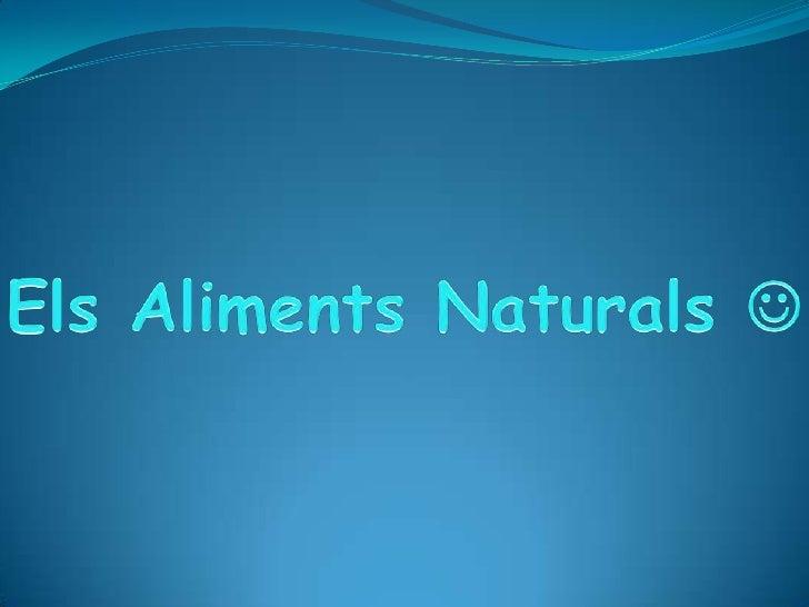 IntroduccióEls aliments estan formatsper carbohidrats, lipids ,aigua i proteïnes. I ha trestipus d'aliments : la carn,les ...