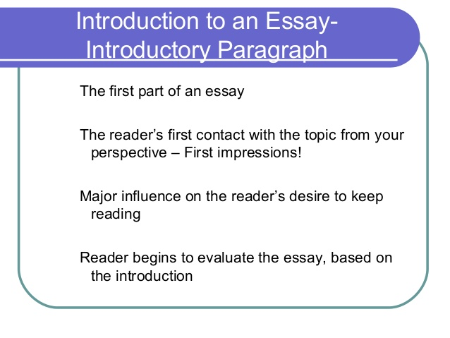 how format an essay official
