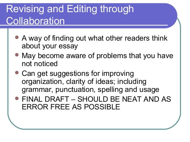 basic elements of a essay