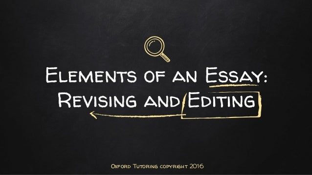 Oxford essay