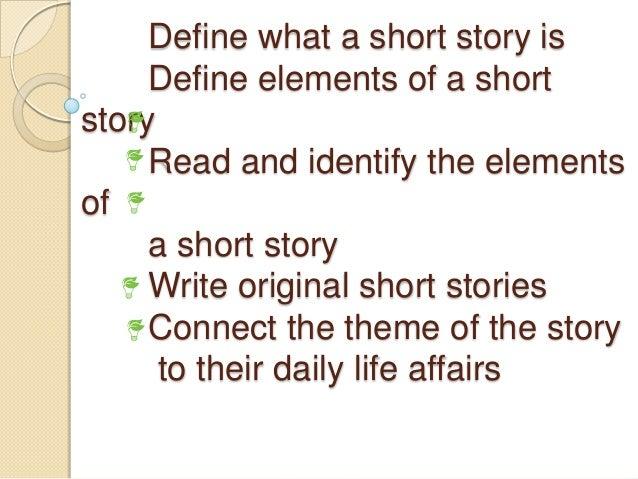 elements of a narrative essay