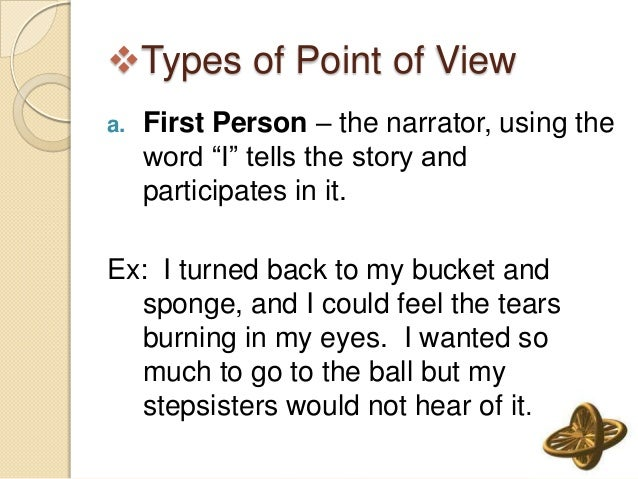 how to write a story in first person