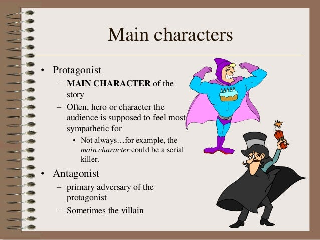 analysis of main characters