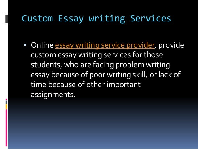 Same day custom essays