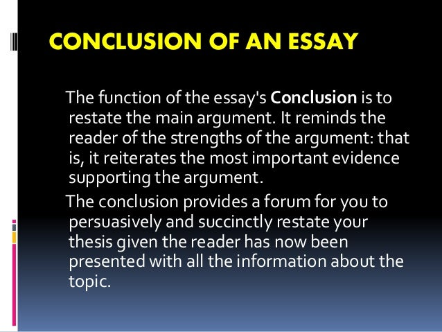 Definition for essay
