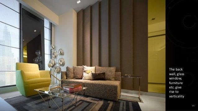 Vertical Interior Design Furniture ~ Elements of interior design