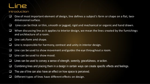 Elements Of Design Color Definition : Elements of interior design
