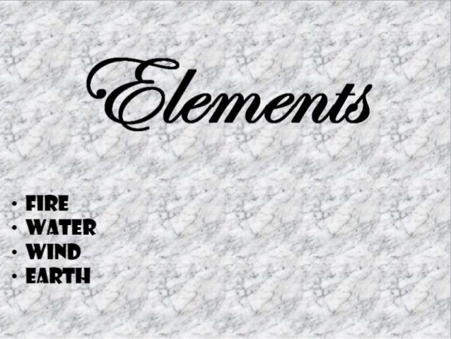 Elements powerpoint