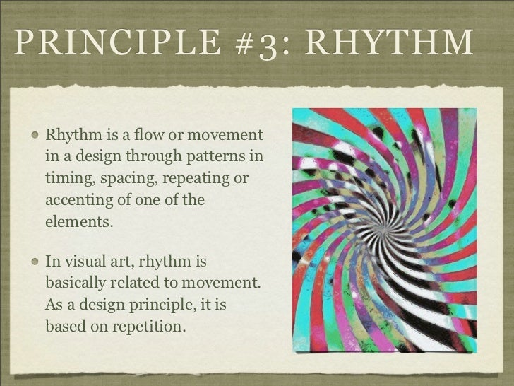 Principles Of Art Rhythm : Elements and principles