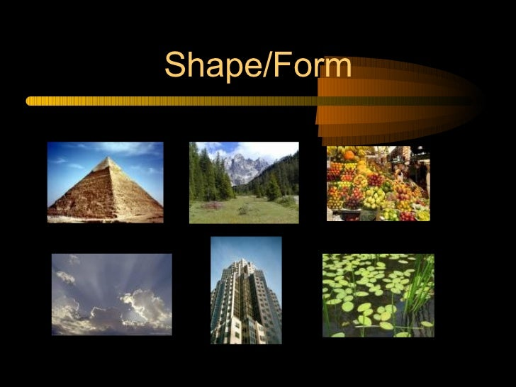Elements Of Design Shape And Form : Elements and principles of design in photography