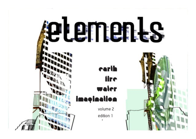 earth        fire     waterimagination      volume 2      edition 1                  elements 1