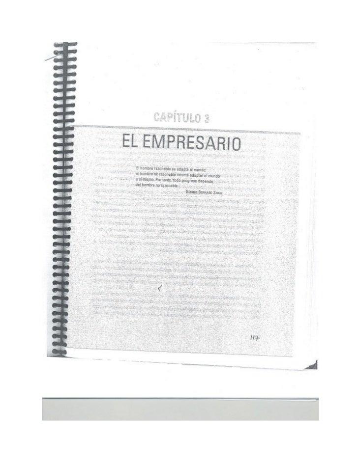 El empresario. cap. 3