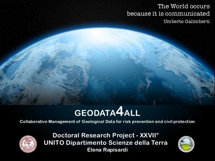 Geodata4All