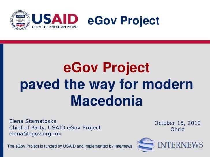 E-gov project