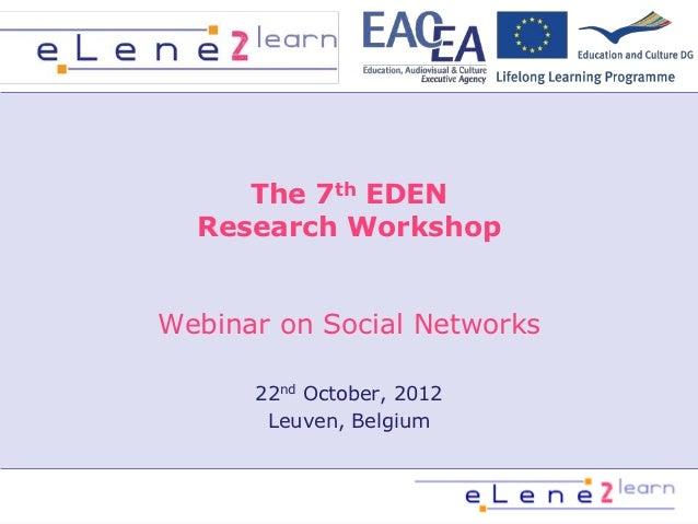 E lene2learn webinar_phase_1