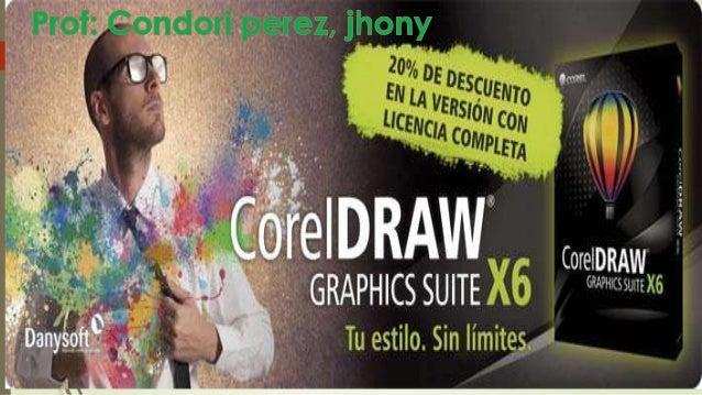COREL DRAW X6 DEFINICIÓN El programa de corel draw sirve desde el punto de vista para diseñar logotipos, calendarios, afic...