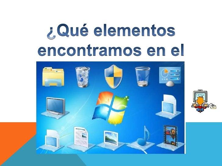 El escritorio de windows - Iconos para escritorio windows ...