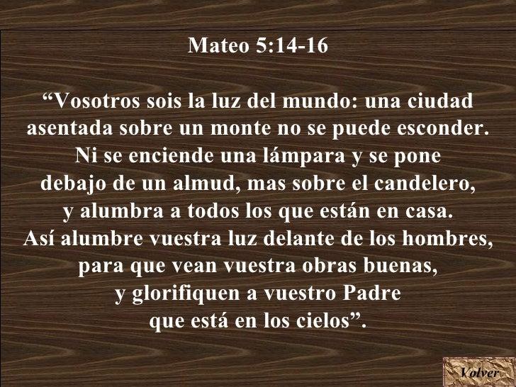 Resultado de imagen para Mateo 5,14-16