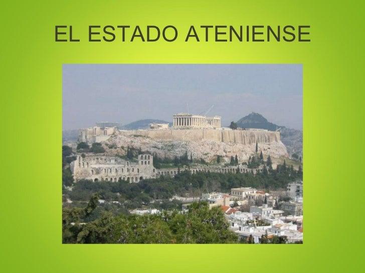 EL ESTADO ATENIENSE