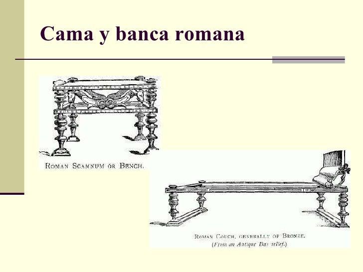 El estilo griego y romano for Caracteristicas del mobiliario