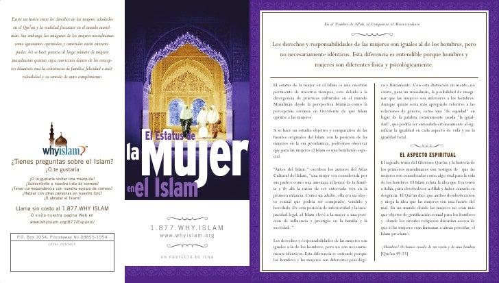 El Estratus De La Mujer En El Islam  Spanish