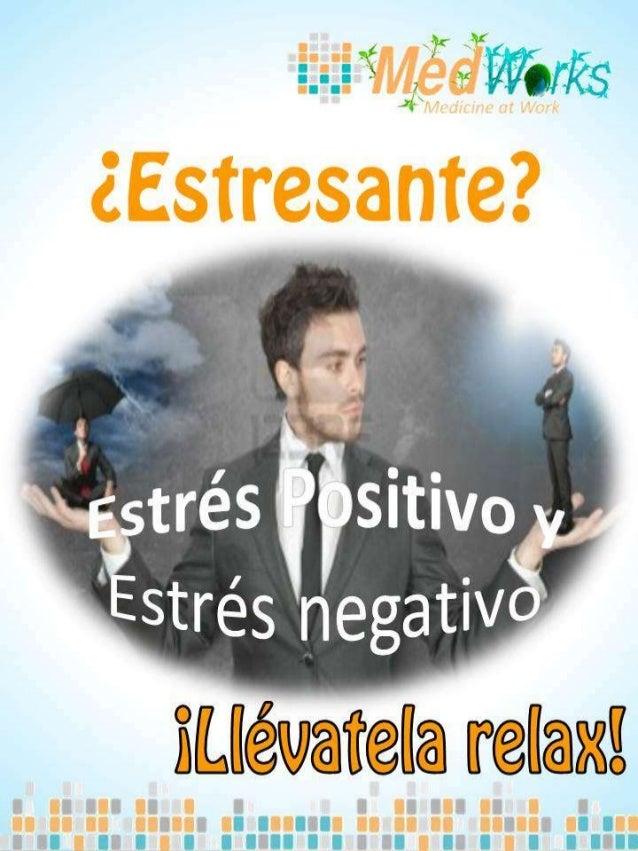 Hablamos de estrésreduciendo el término a lassecuelas negativas quepuede acarrear el proceso dedesadaptación.• El estrés: ...