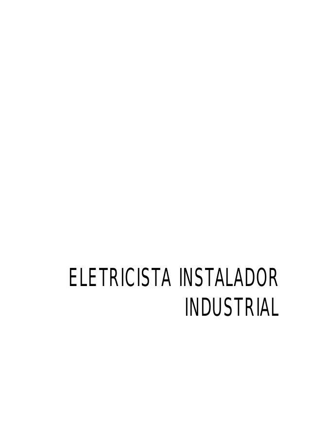 ELETRICISTA INSTALADOR INDUSTRIAL