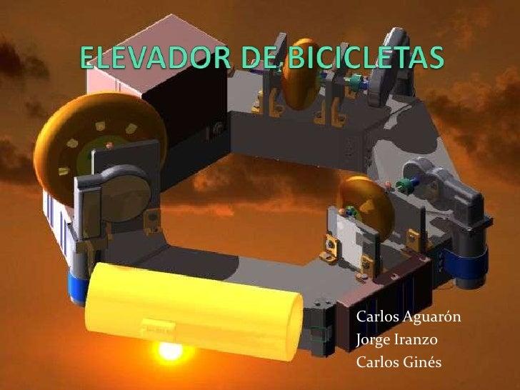 Elevador de bicicletas