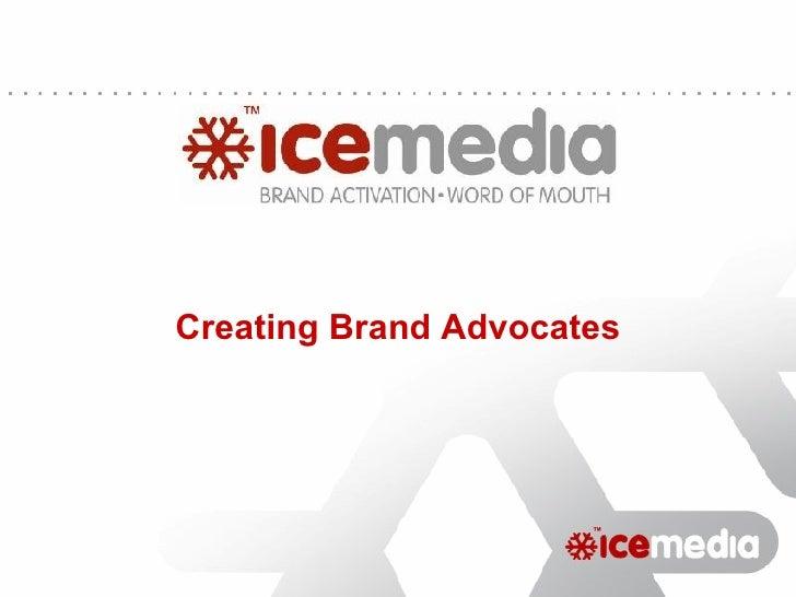 Elevator Pitch: Ice Media