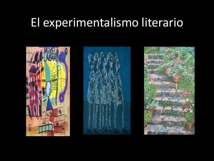 El experimentalismo literario