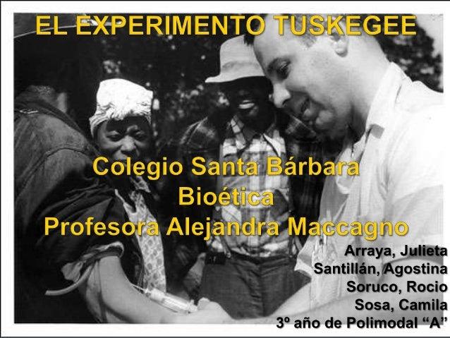 Un estudio clínico para estudiar el progreso de la sífilis no tratada Tuskegee, Alabama, Estados Unidos. Desde 1932 hasta ...